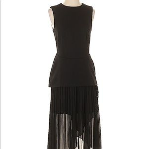 Finders Keepers Black Layered Dress